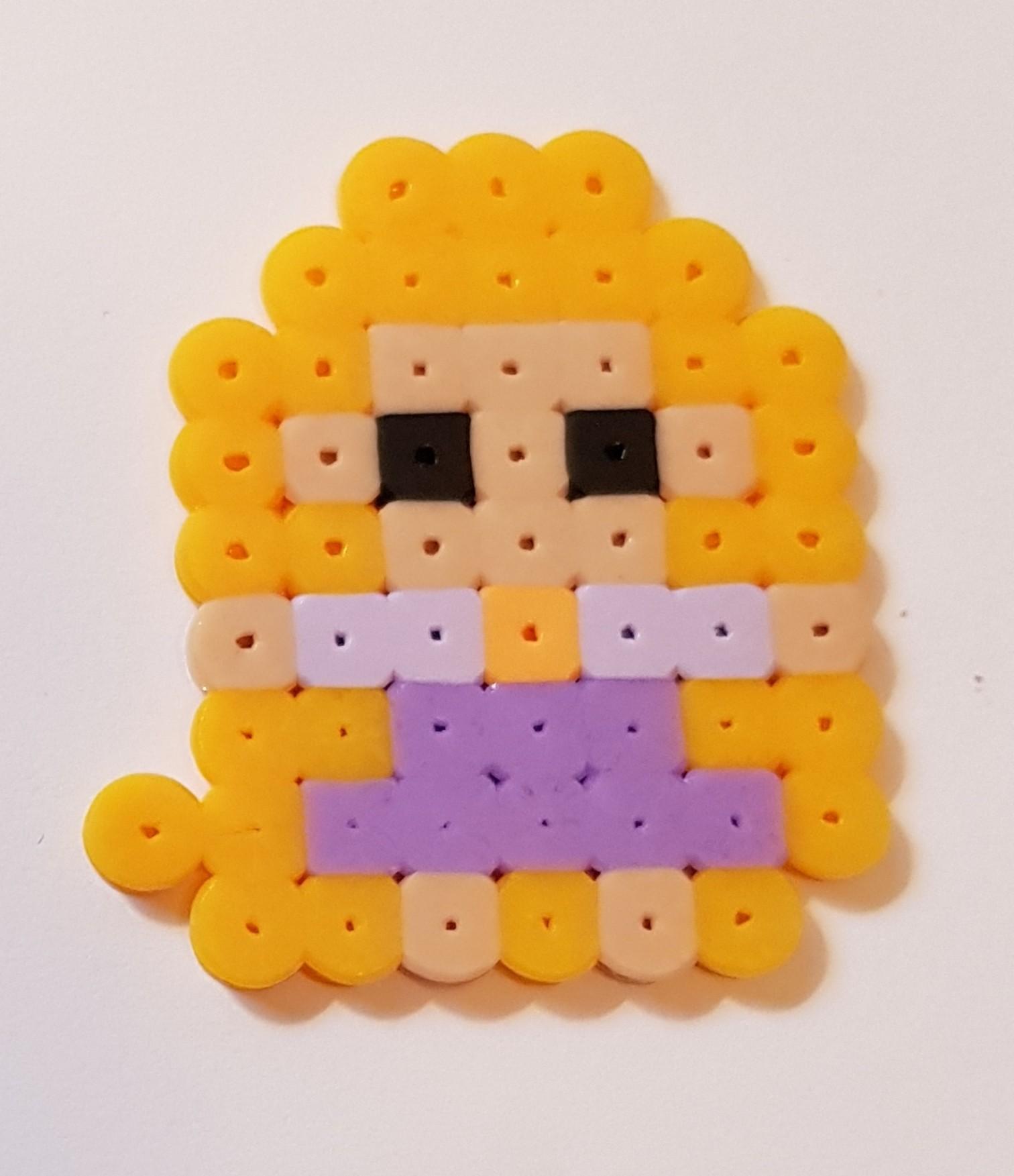 hama beads disney princess rapunzel