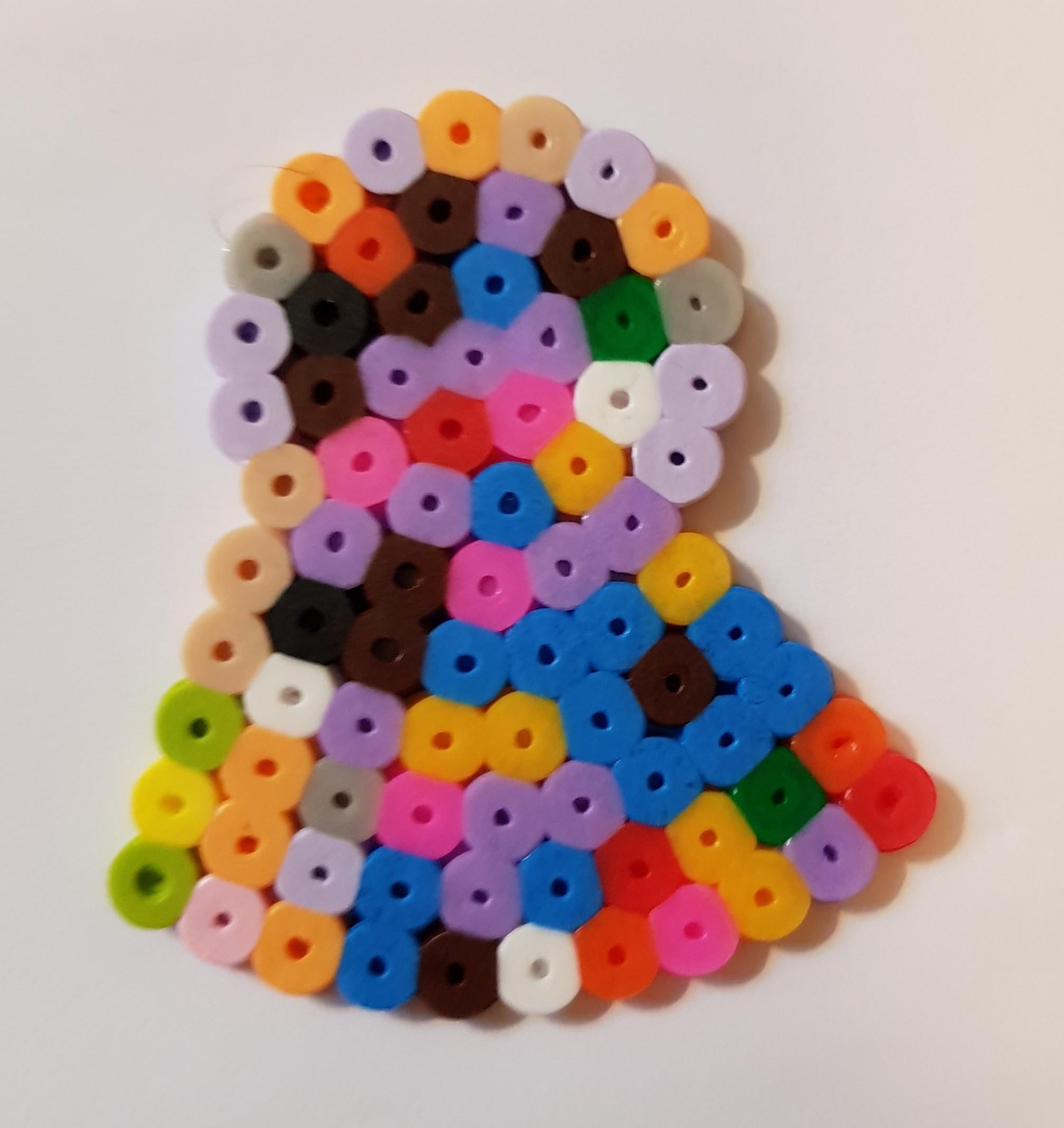 hama beads medallion 2