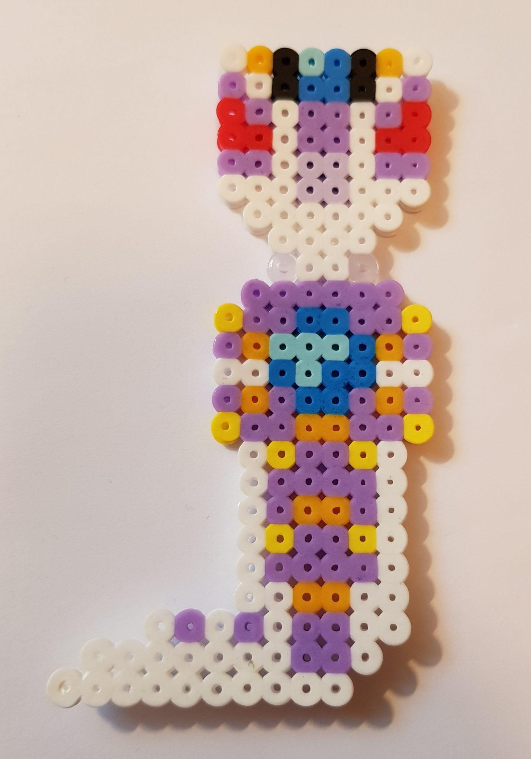 hama beads ninjago pythor