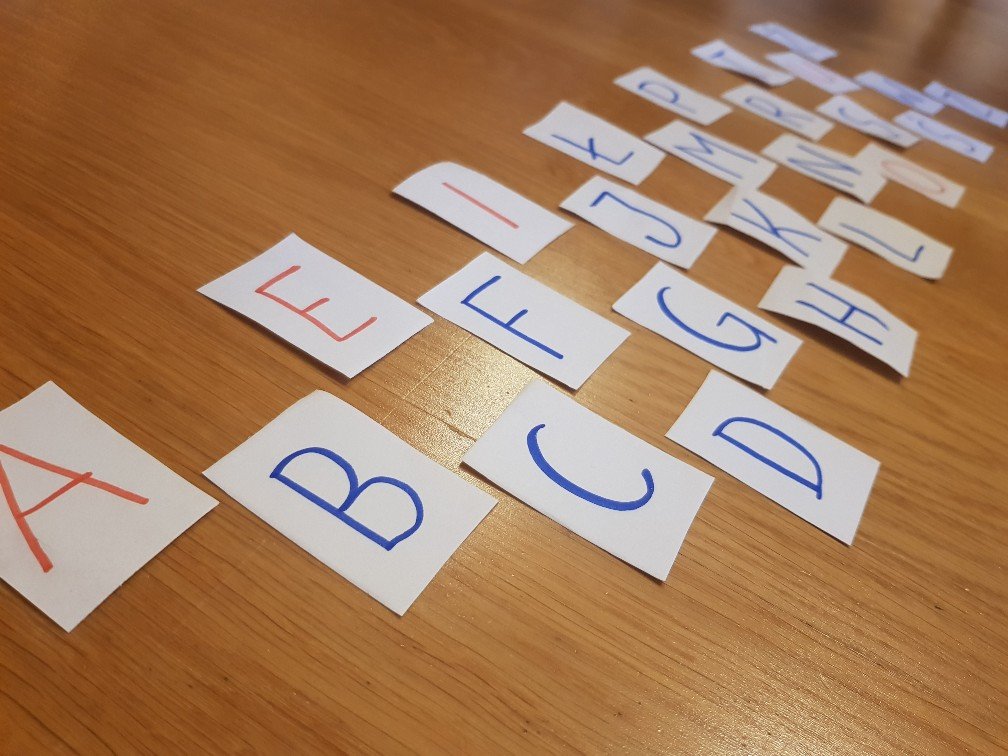 alphabet game letters