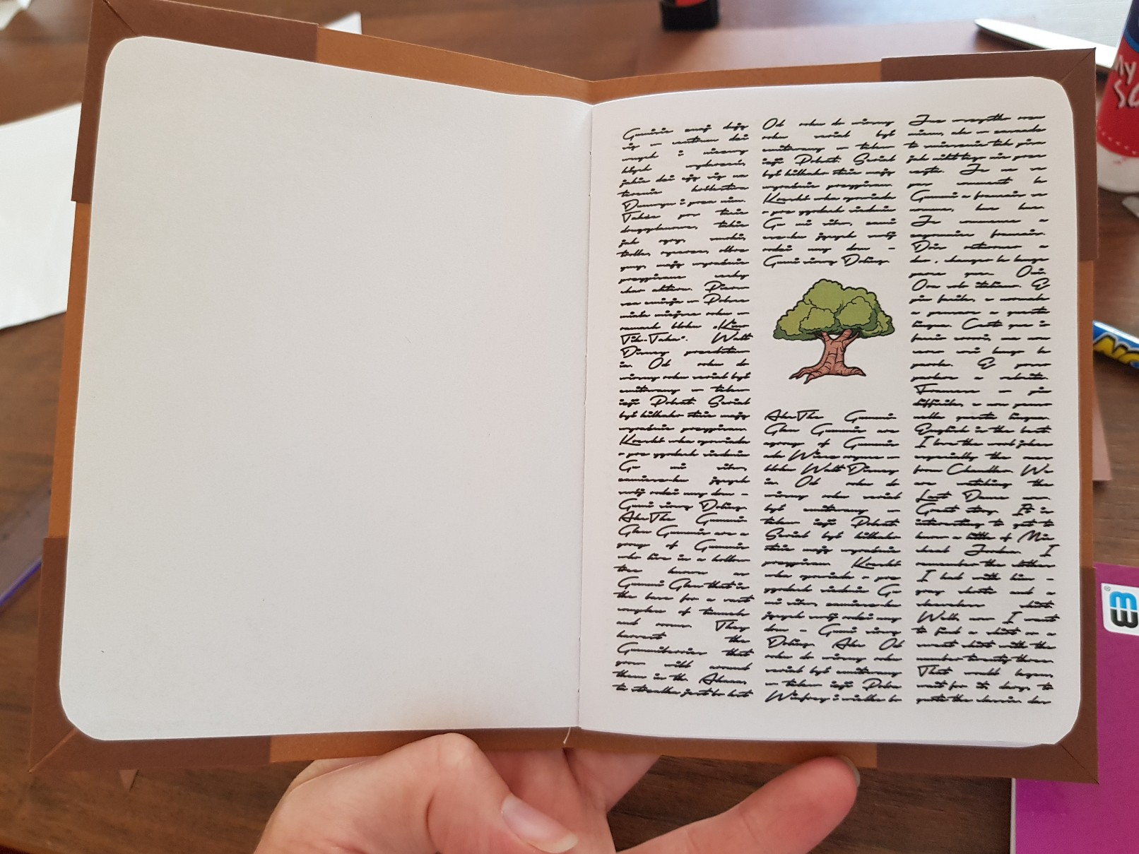 great book of gummi birthday invitation inside