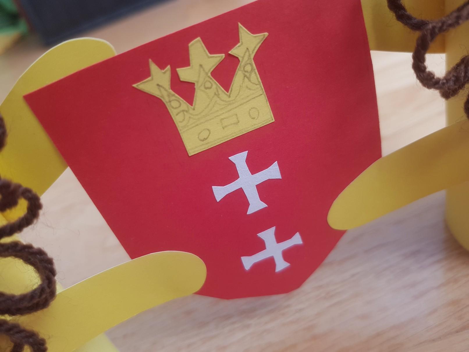 coat of arms gdansk lions final shield