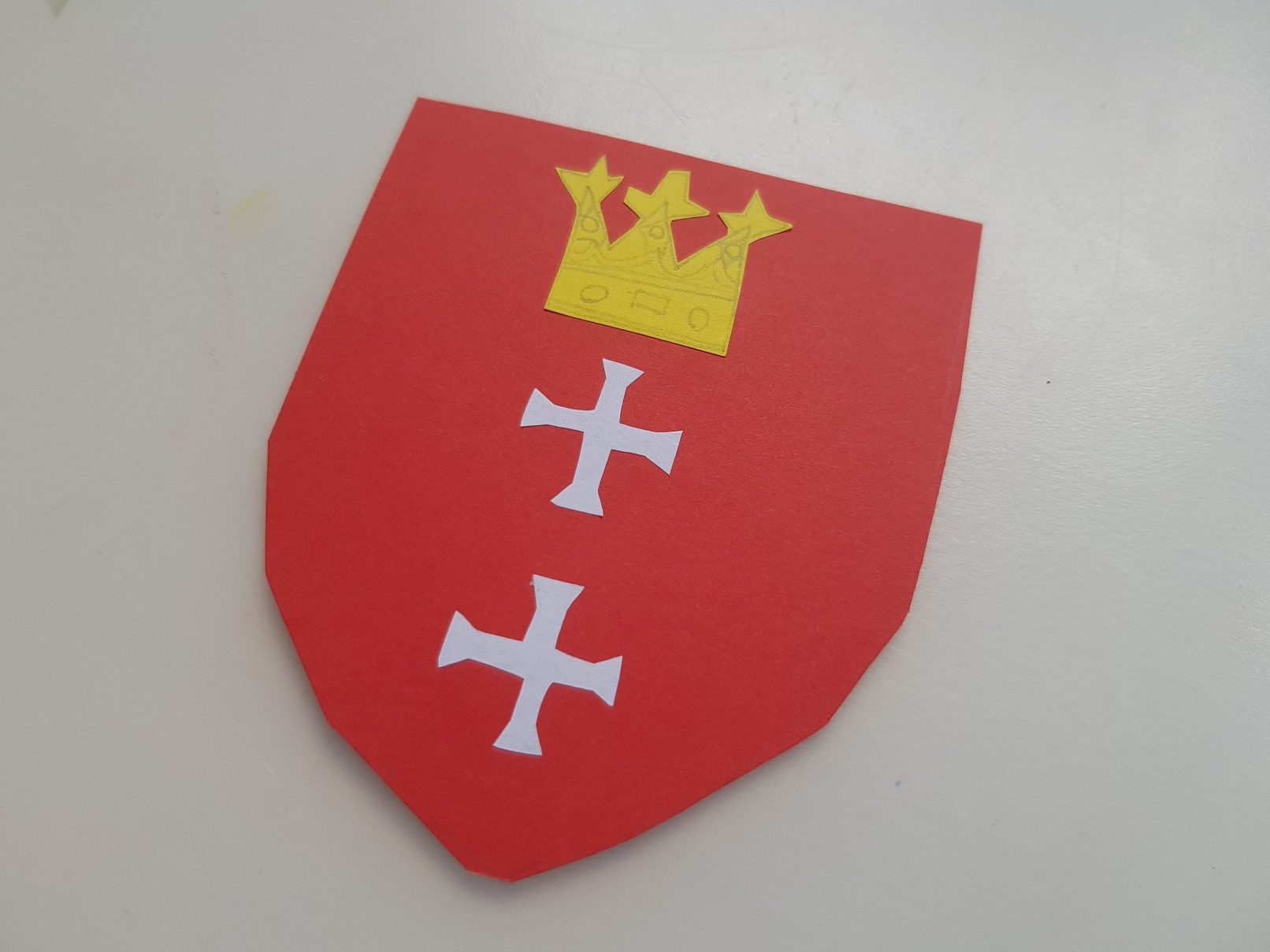 coat of arms gdansk lions full shield