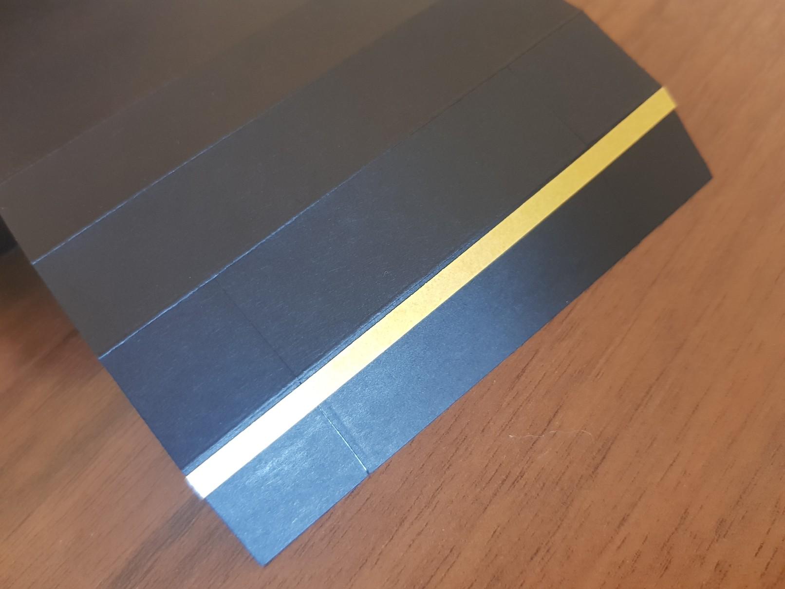 shadow box base taping