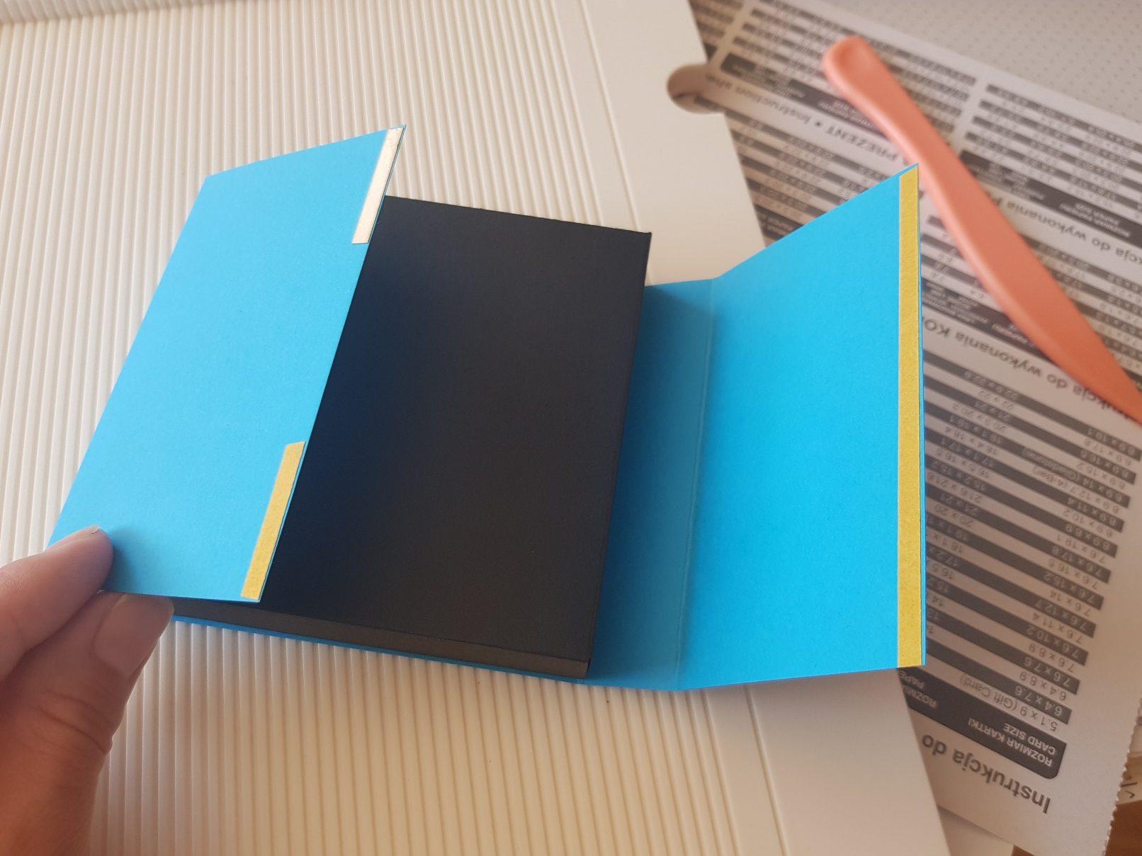 shadow box sleeve taping