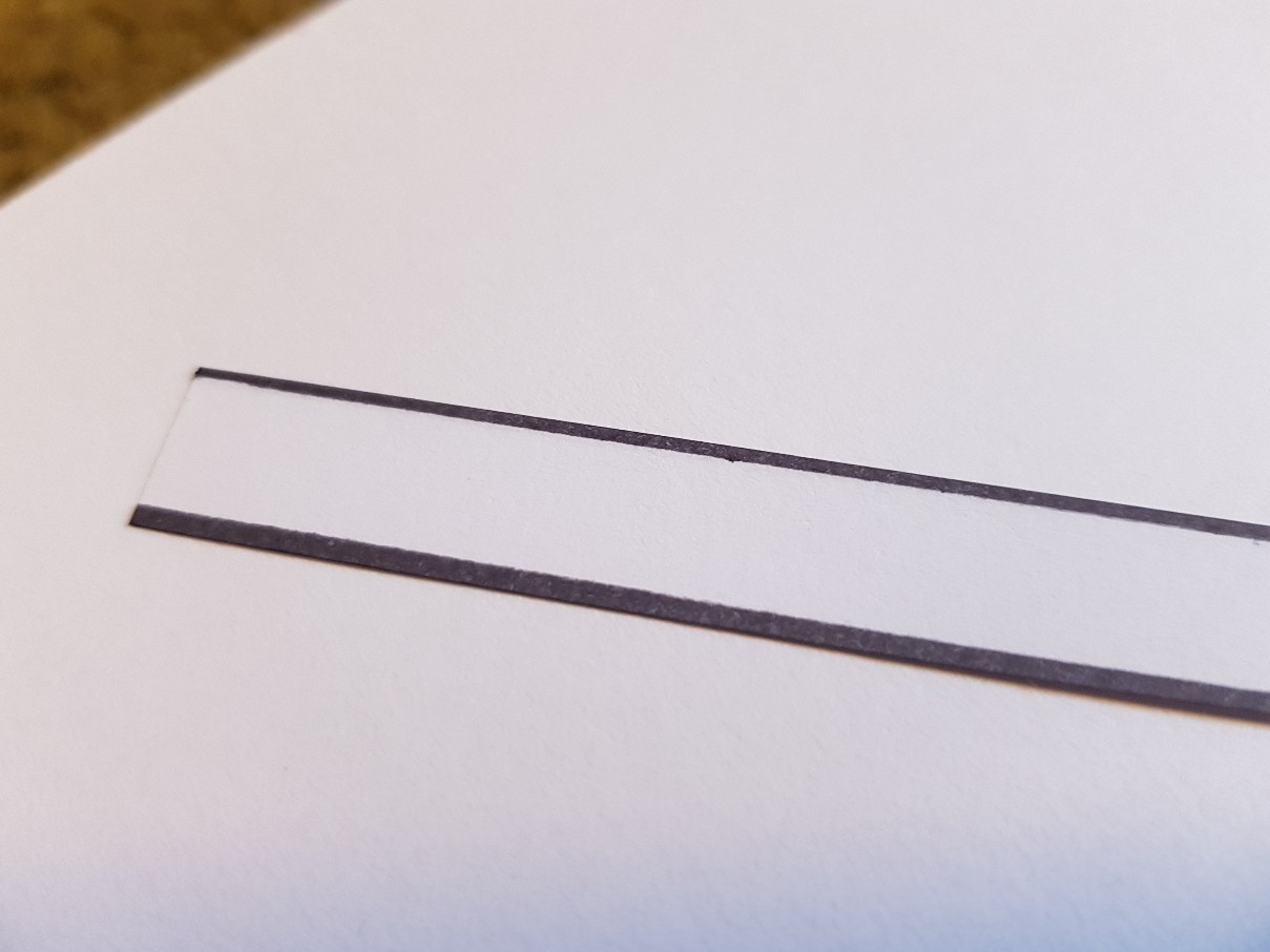 bookmark nemo black edges