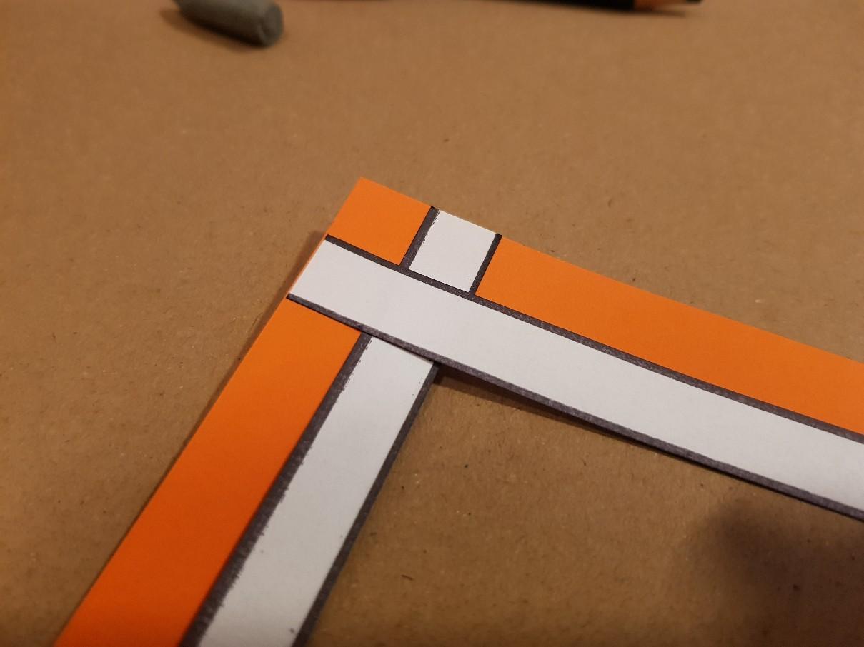 bookmark nemo white stripes