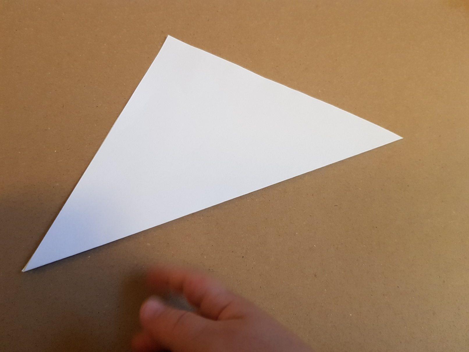 corner bookmark step 1