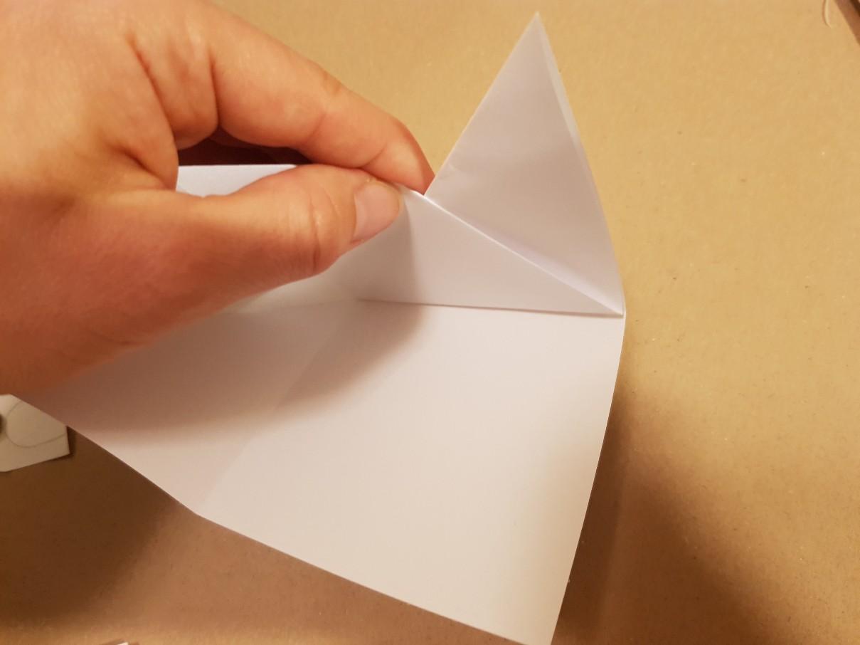 corner bookmark step 6
