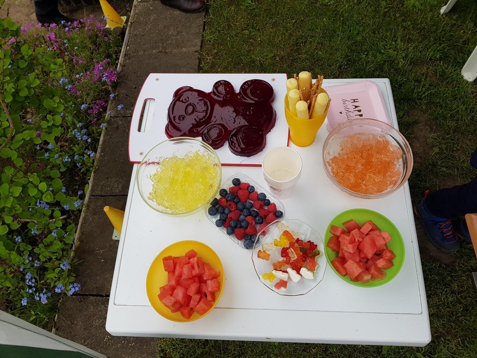 gummi bears birthday party food ideas