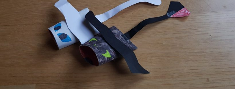 how to train your dragon paper roll toothless light fury