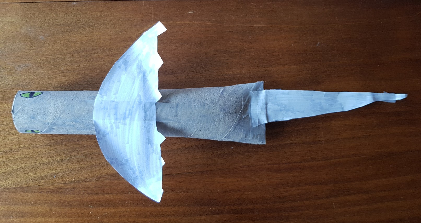 how to train your dragon paper roll windshear top