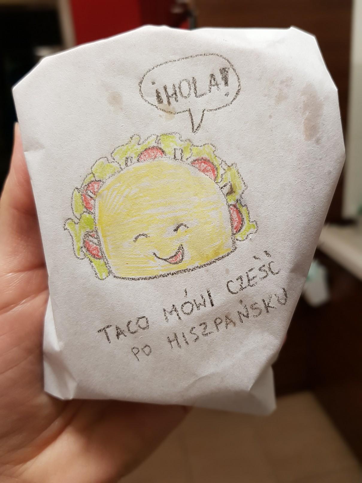 lunchbox art taco