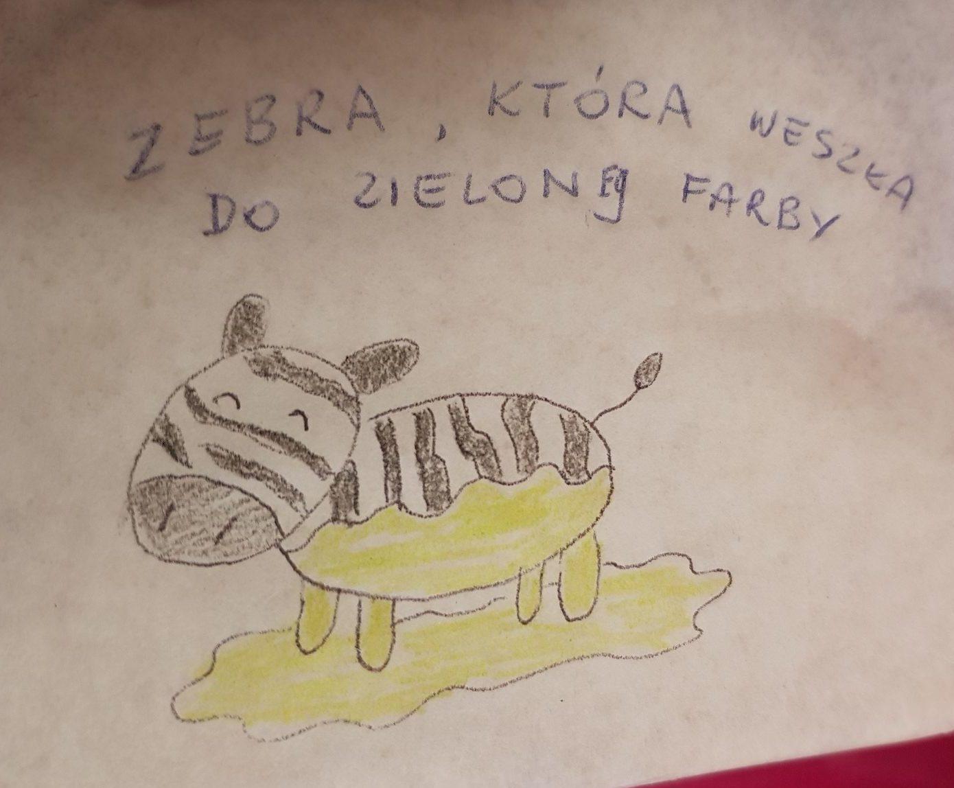 lunchbox art zebra