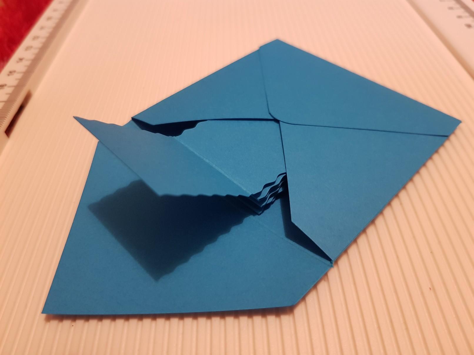 nemo birthday invitation envelope creased