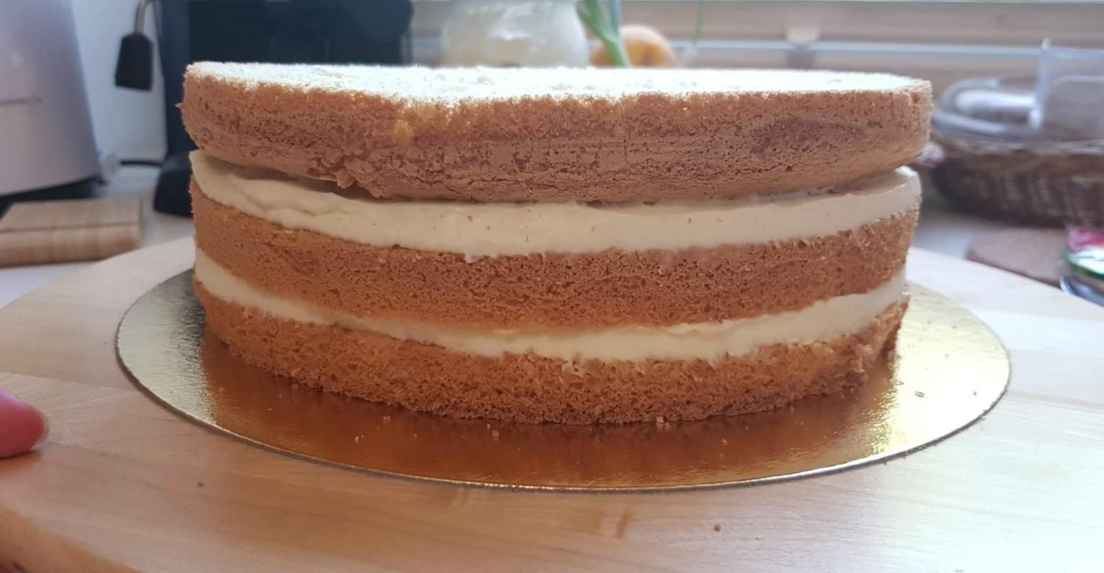 nemo cake layers