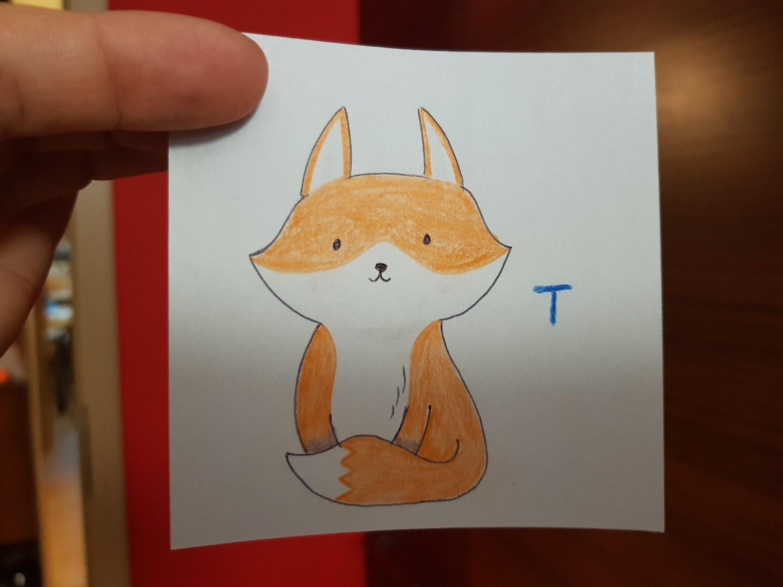 lunchbox art fox puzzle