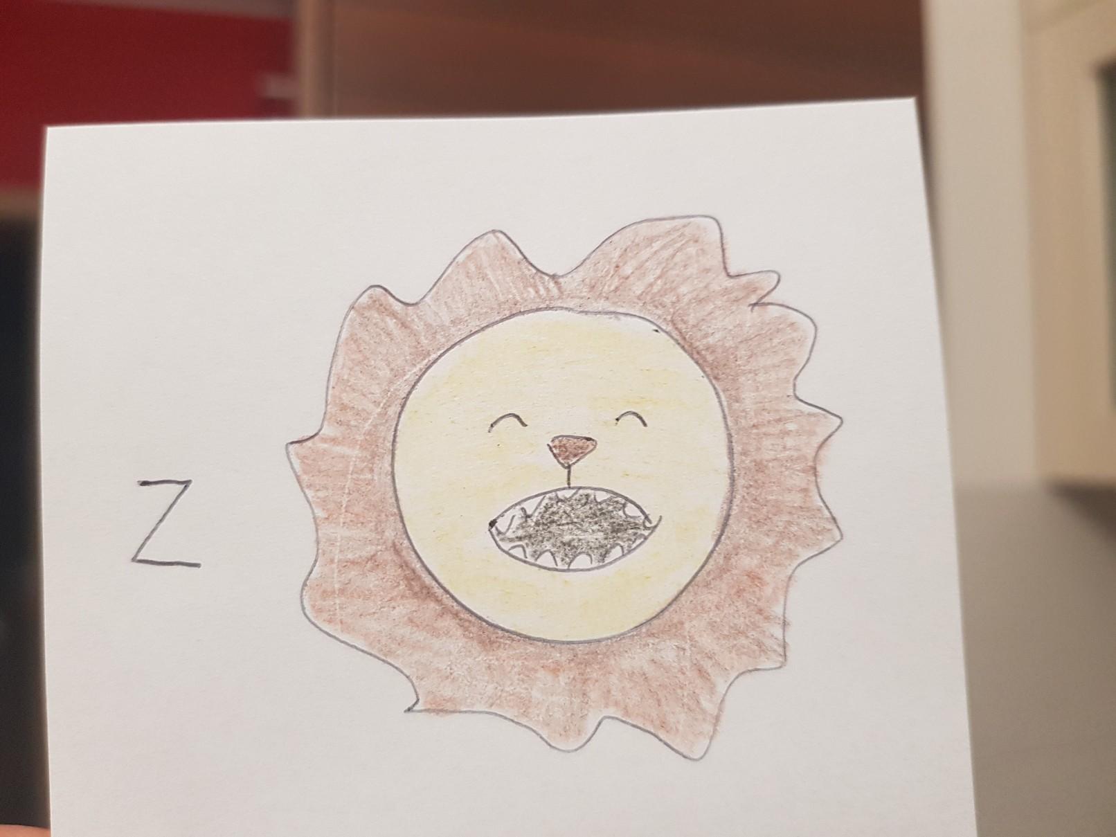 lunchbox art lion puzzle