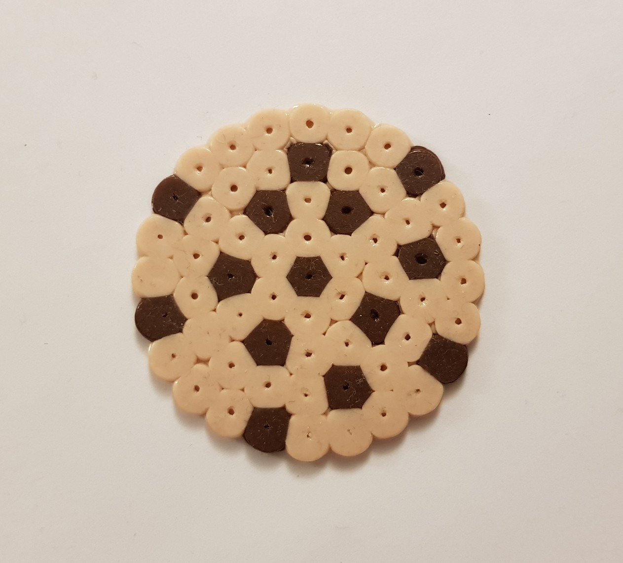 hama beads cookie
