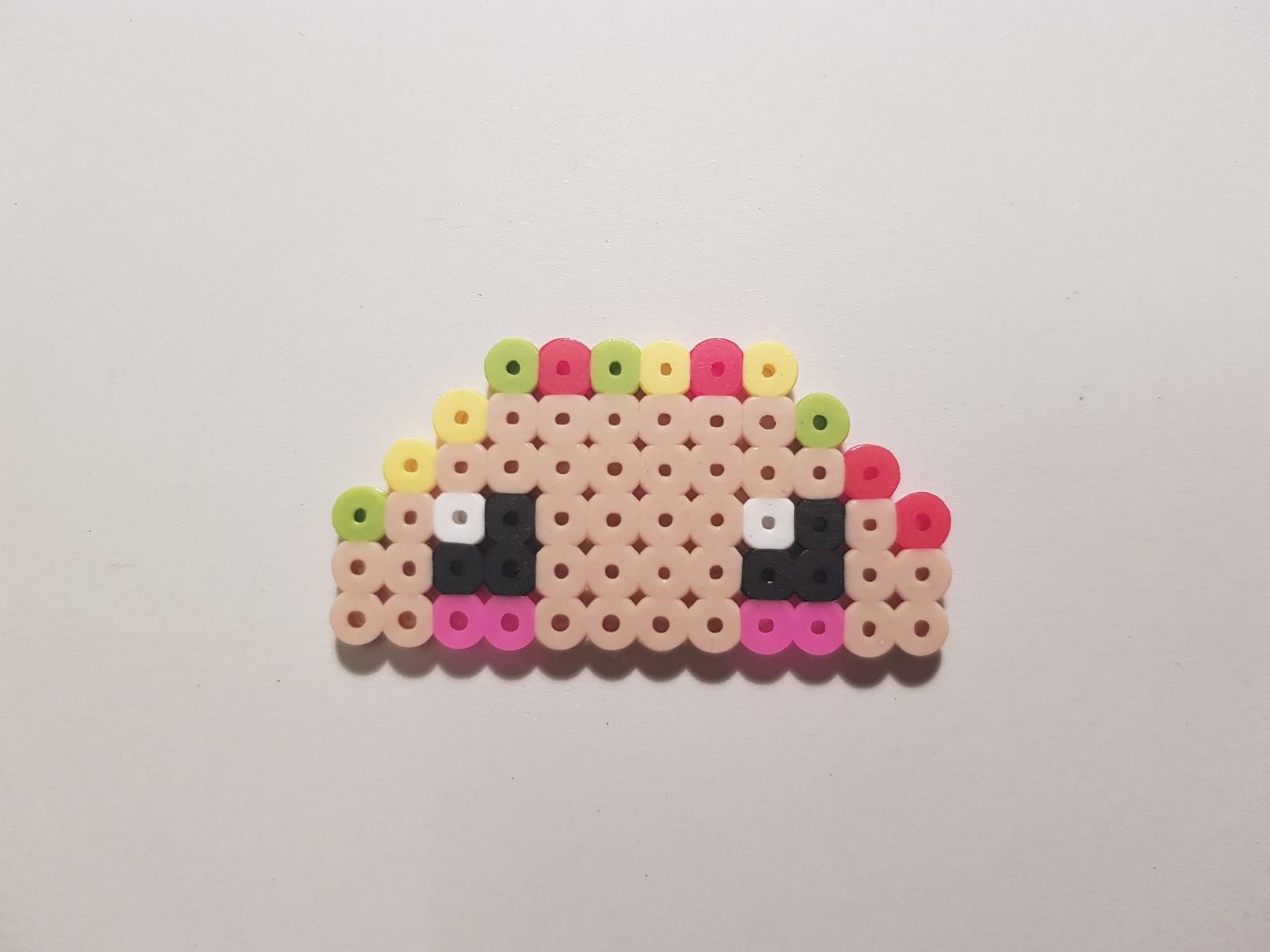 hama beads taco 2