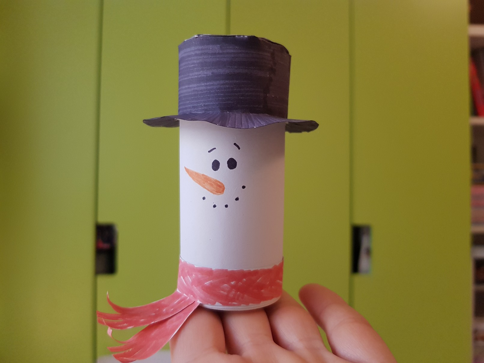 snowman luminary day