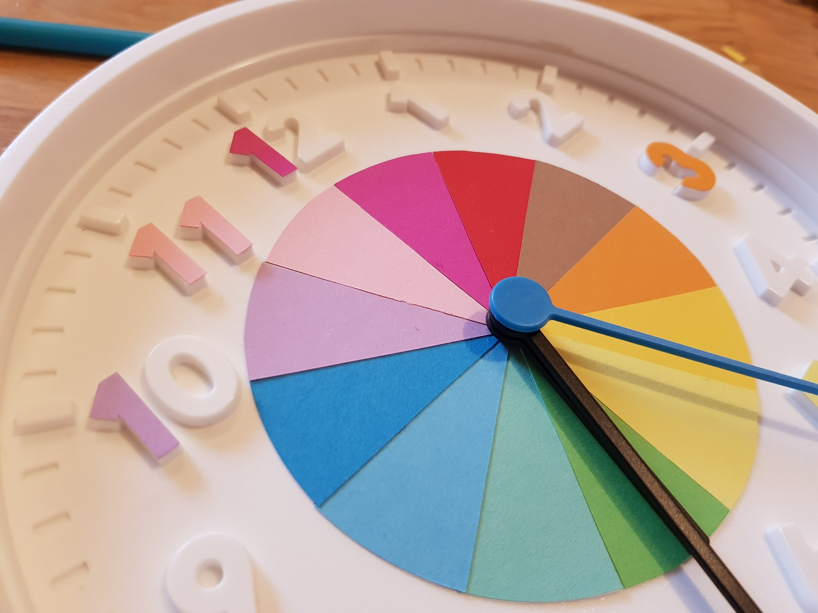 clock learning time telling hours