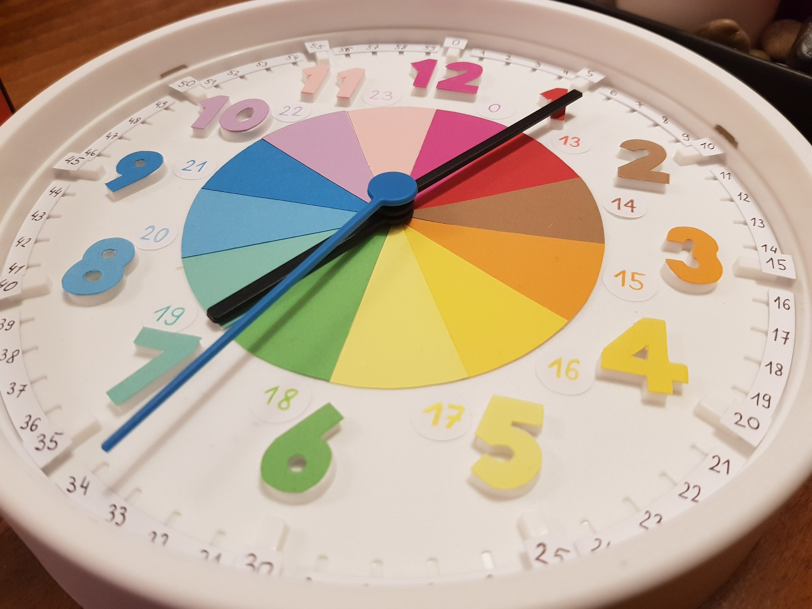 clock learning time telling ready