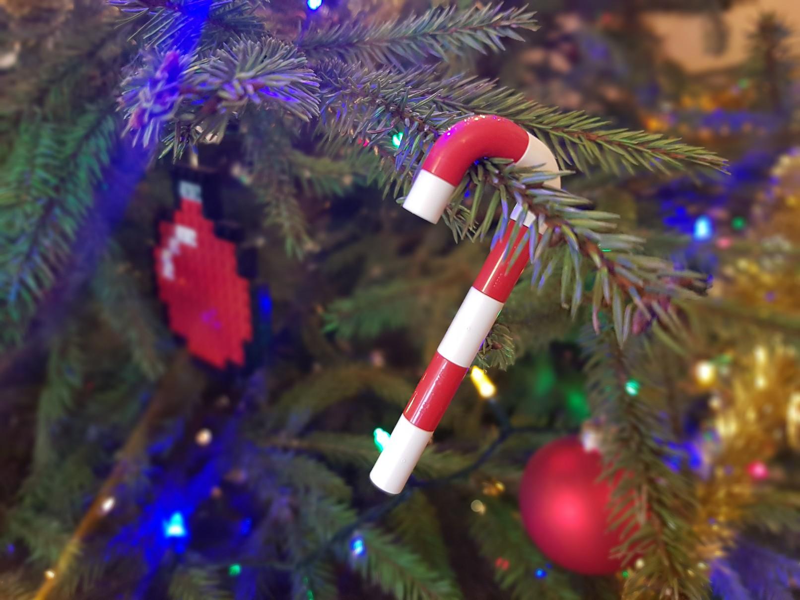 lego moc christmas baubles ornament candy stick