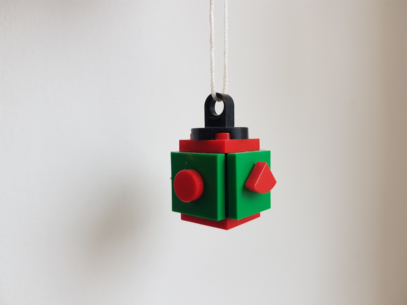 lego moc christmas baubles ornament red green small ball 2