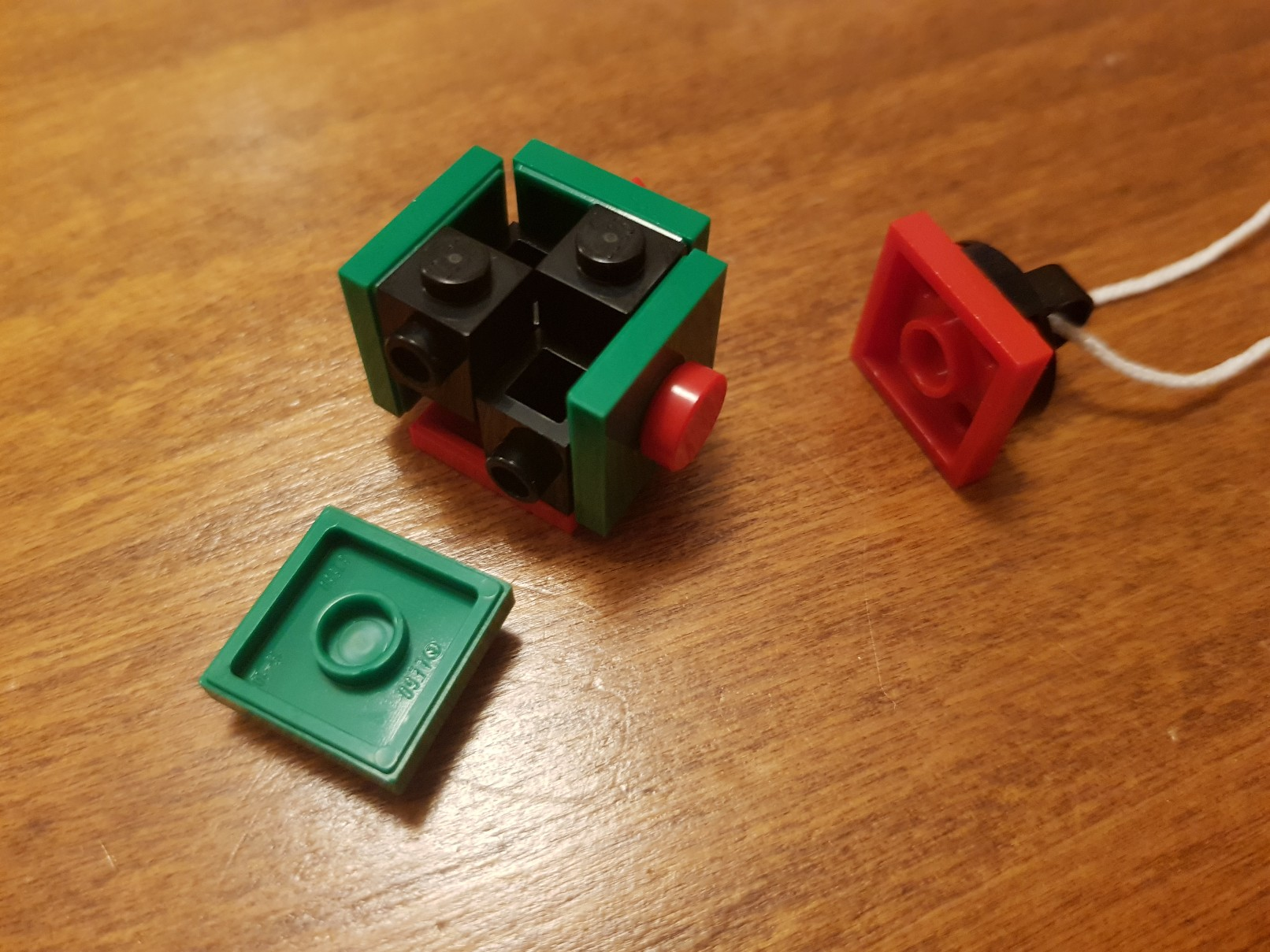lego moc christmas baubles ornament small ball parts 2