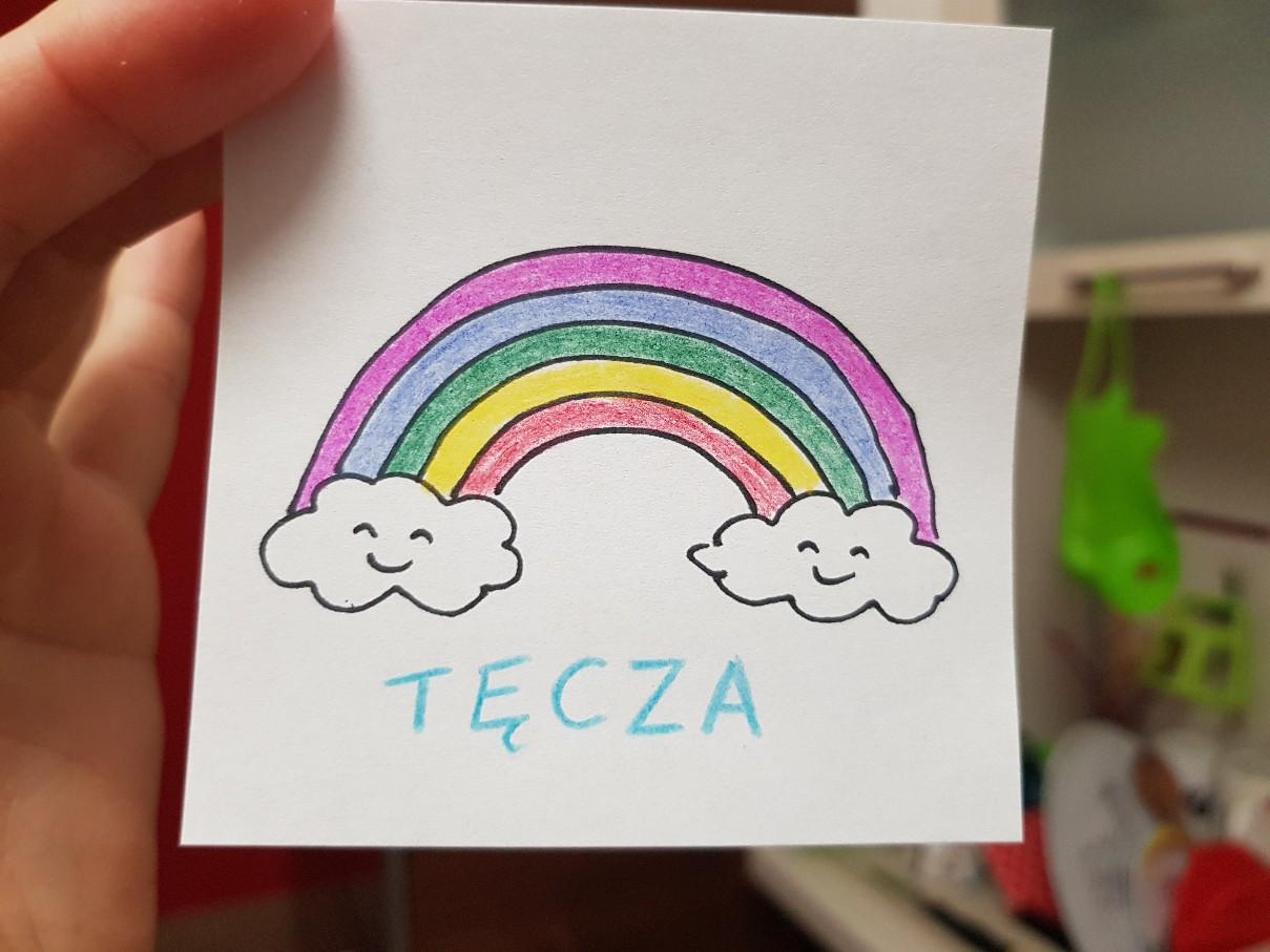 lunchbox art rainbow smiling