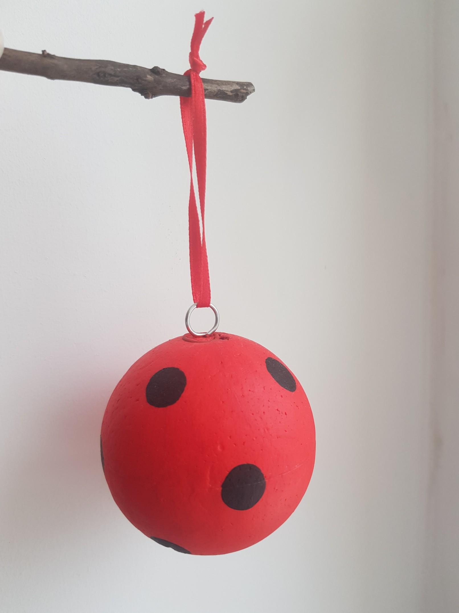 miraculous ladybug chat noir baubles red