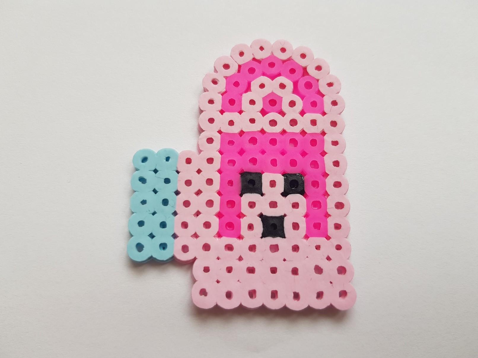 hama beads diver mug