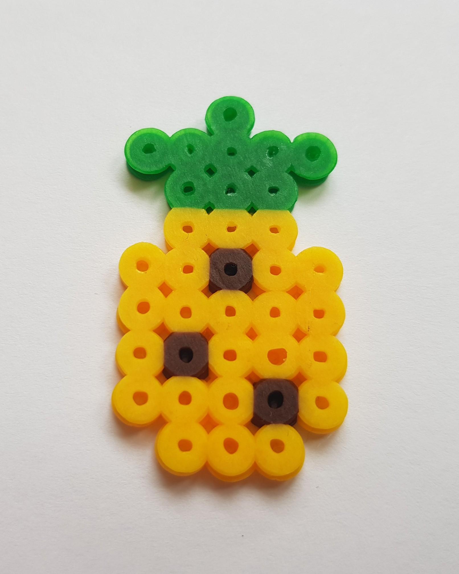 hama beads little pineapple