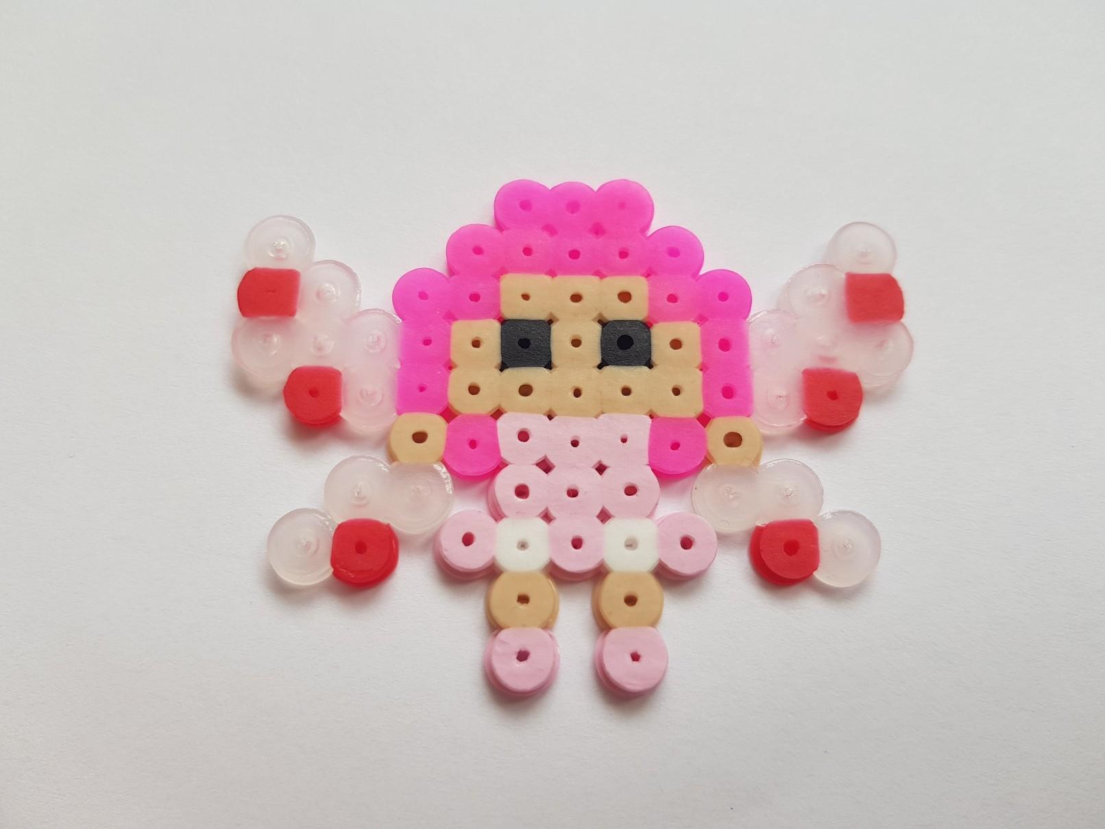 hama beads mia and me mia