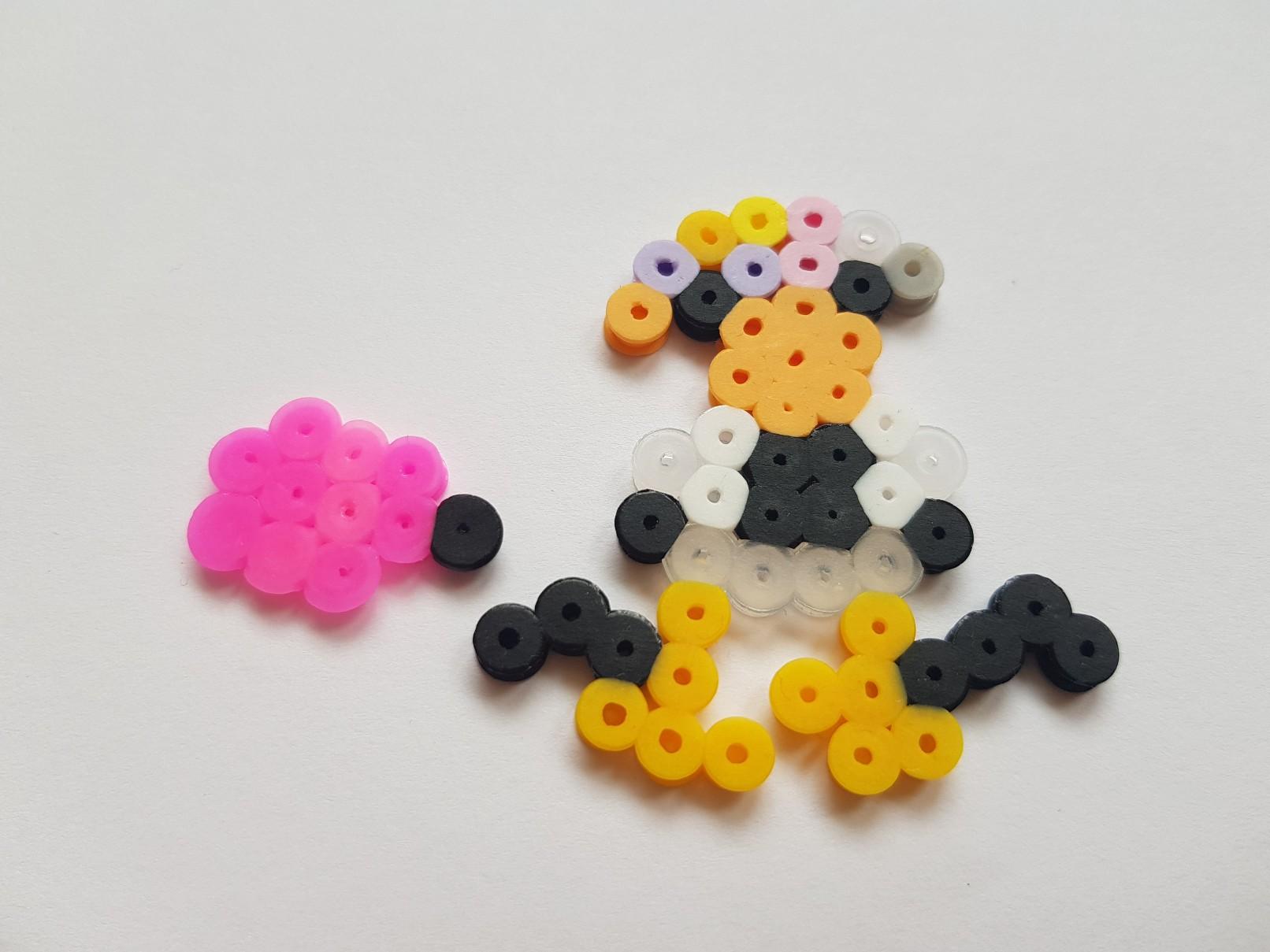 hama beads weird penguin