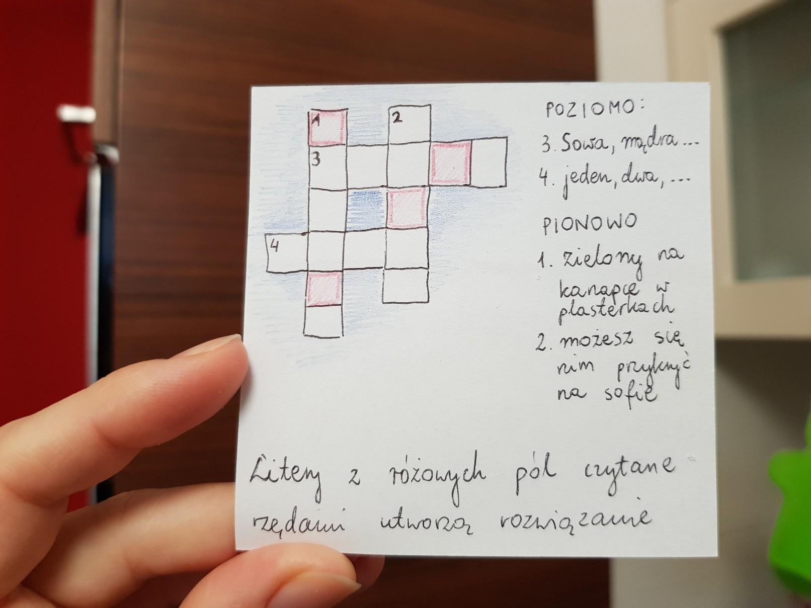 lunchbox art crossword puzzle owce