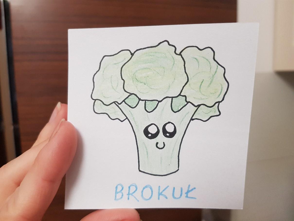 lunchbox art broccoli