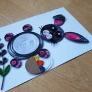 quilled easter bunny featured