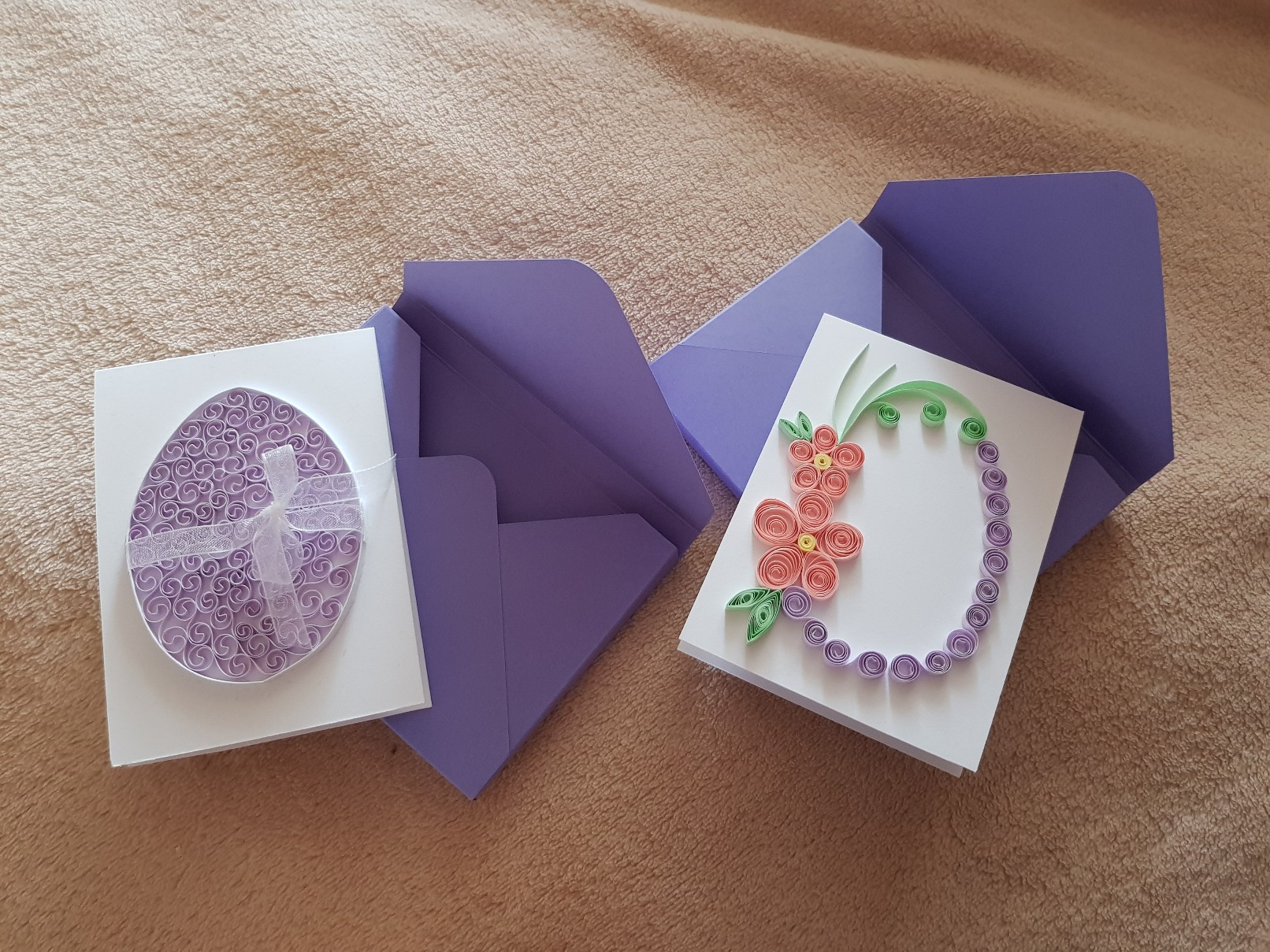qulling easter card featured 1