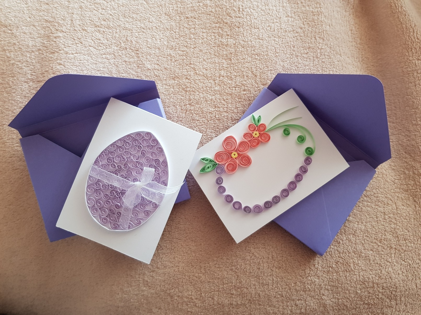 qulling easter card featured 2