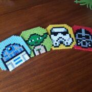 hama beads star wars coasters featured